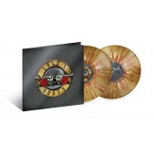 Guns N Roses - Greatest Hits (Gold, Red + White Splatter) 2XLP VInyl