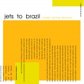 Jets To Brazil - Orange Rhyming Dictionary 2XLP (Black) Vinyl