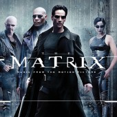 """Various Artists - The Matrix: Music from the Original Motion Picture Soundtrack (Red & Black """"Squiddy"""") 2XLP Vinyl"""