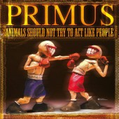 Primus - Animals Should Not Try To Act Like People (Yellow) LP