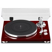 TEAC TN-300-CH Belt-Drive Analog Turntable (Cherry Wood)