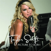 """Taylor Swift - Picture To Burn (Colored) 7"""" Vinyl"""