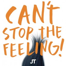 "Justin Timberlake - Can't Stop The Feeling! (Orange) 12"" EP Vinyl"