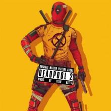 Tyler Bates - Deadpool 2 (Red/Black) 2XLP VInyl