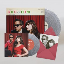 "She & Him - A Very She & Him Christmas (10th Anniversary Silver) LP + 7"" Vinyl"
