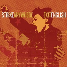 Strike Anywhere - Exit English (Clear w/ Black Smoke) Vinyl LP
