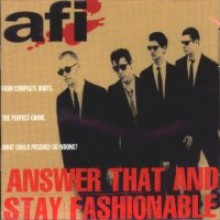 AFI - Answer That And Stay Fashionable LP
