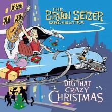 Brian Setzer & The Brian Setzer Orchestra - Dig That Crazy Christmas (Red/White Splatter) Vinyl LP