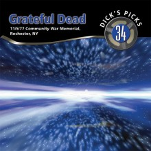 Grateful Dead - Dick's Picks Volume 34 (Community War Memorial, Rochester, NY 11/5/1977) 6XLP vinyl