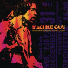 Jimi Hendrix - Machine Gun: The Fillmore East First Show 12/31/69 2XLP