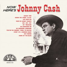 Johnny Cash - Now Here's Johnny LP