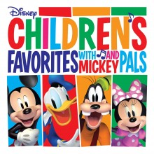 Various Artists - Children's Favorites with Mickey and Pals (Red) LP