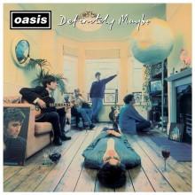 Oasis - Definitely Maybe (Silver) 2XLP vinyl