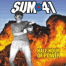 Sum 41 - Half Hour of Power (Gold/Red Smoke) LP