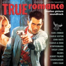 Various Artists - True Romance (25th Anniversary) Clear with White Splatter Vinyl Edition 2XLP Vinyl