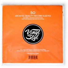 Vinyl Styl™ Archive Quality Inner Record Sleeve (QTY: 50)