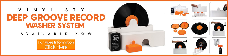 Deep Groove Record Washer