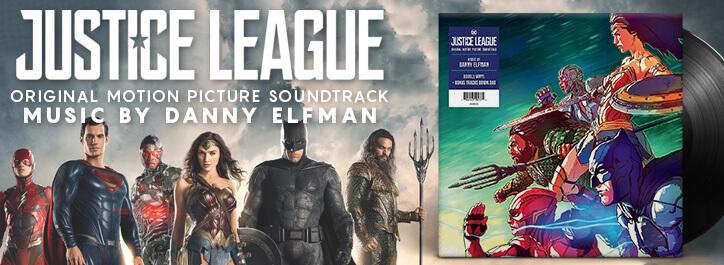 Justice League Vinyl