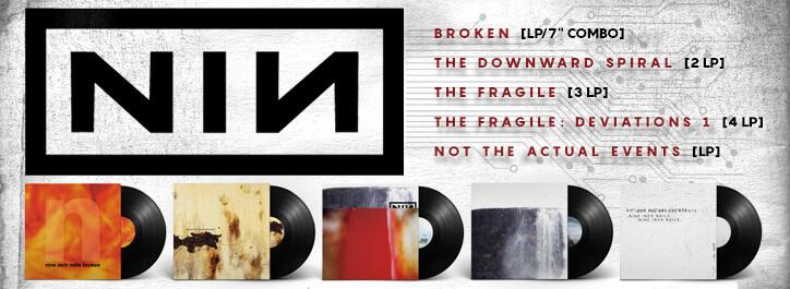 Nine Inch Nails Vinyl